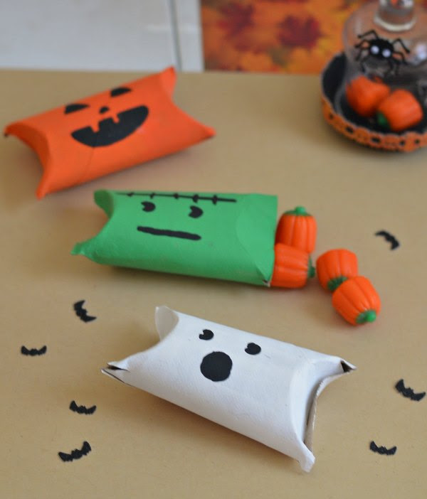 Easy Halloween Candy Holders by Quirky Inspired