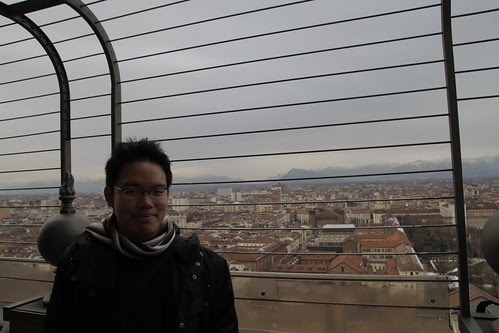Me, on top of Torino