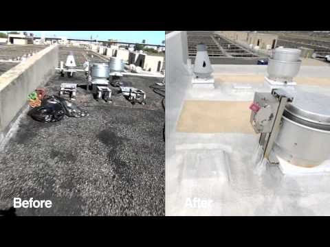 Spray Foaming A Water Treatment Facility