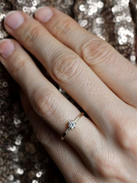 Why This Woman Is Defending Her 1/4 Carat Engagement Ring
