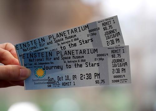 einstein planetarium tickets