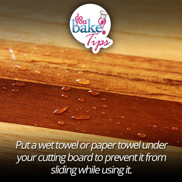 Paper Towel Under Your Cutting Board Do You Bake