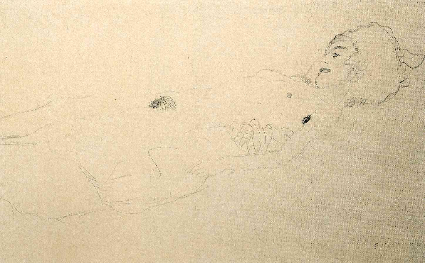 Gustav Klimt erotica sensual20
