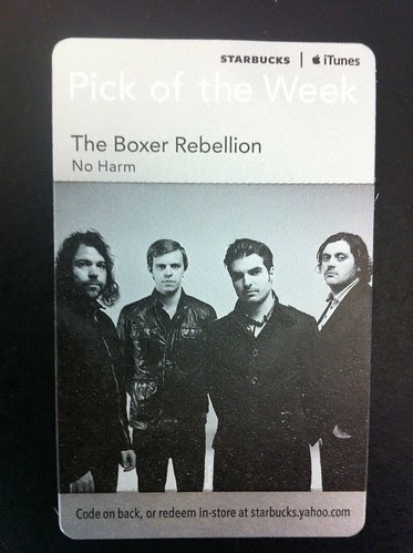 Starbucks iTunes Pick of the Week - The Boxer Rebellion - No Harm