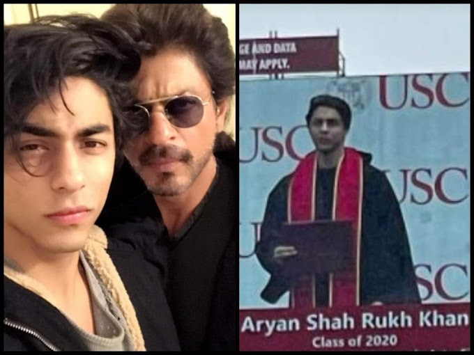 SRK's son's viral pic from graduation ceremony