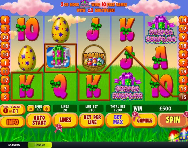 Play the Easter Surprise Slot Game with No Download