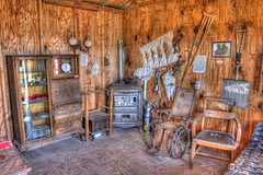 Doctor's Office in Four Mile Old West Town
