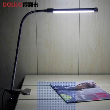 Free Shipping 6W Cool White/Warm White USB Clip Reading Light