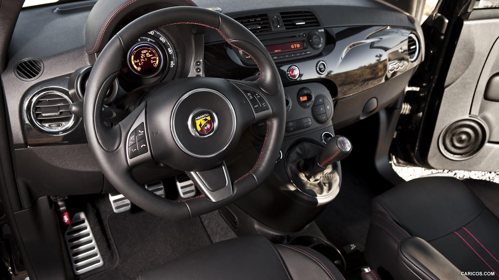 Fiat 500 Abarth (2012) - Interior   HD Wallpaper #127