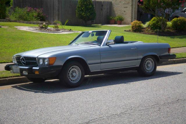1982, Mercedes-Benz, 380SL, 2 Door, Convertible, Classic ...