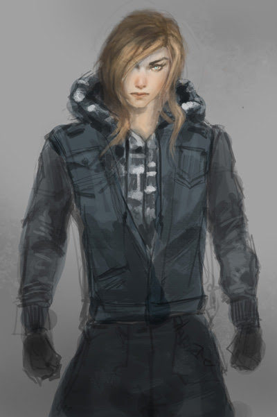 Metal Gear Girl, how to paint, draw, color, step by step, tutorial