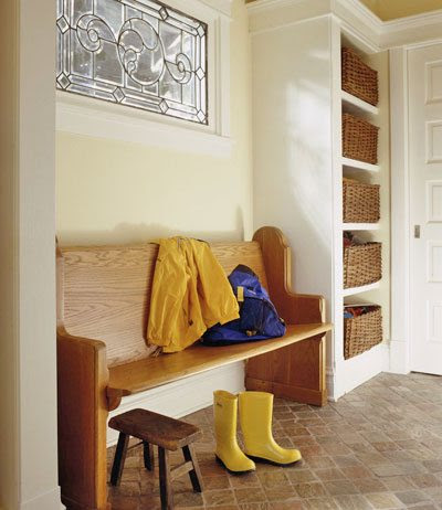 Mudrooms - Entry Way Storage and Organization - Blissfully Domestic
