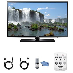Samsung UN40J6200 - 40-Inch Full HD 1080p 120hz Smart LED HDTV + Hookup Kit