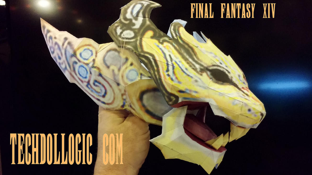Final Fantasy XIV Papercraft Sphairia Novus
