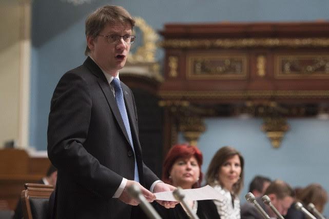 Le chef par intérim du Parti québécois, Sylvain... (Photo Jacques Boissinot, La Presse Canadienne)