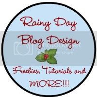 rainy day blog design