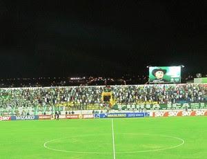 Estádio Romeirão Icasa x Palmeiras (Foto: Marcelo Hazan)
