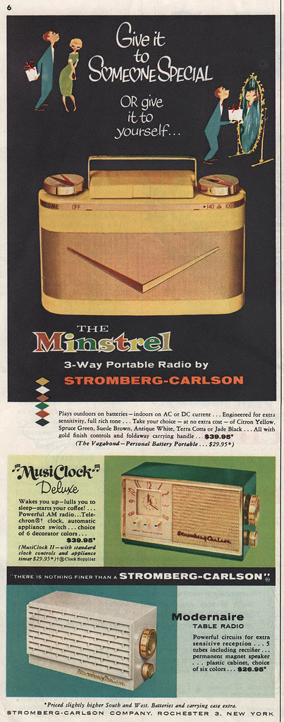 The Minstrel Radio ad