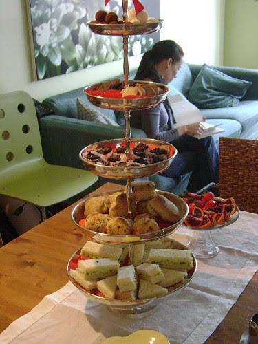 5-tiered tea try :-)