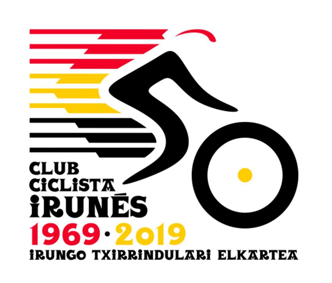 El Club Ciclista Irunés ya tiene nuevo logotipo para su 50 aniversario