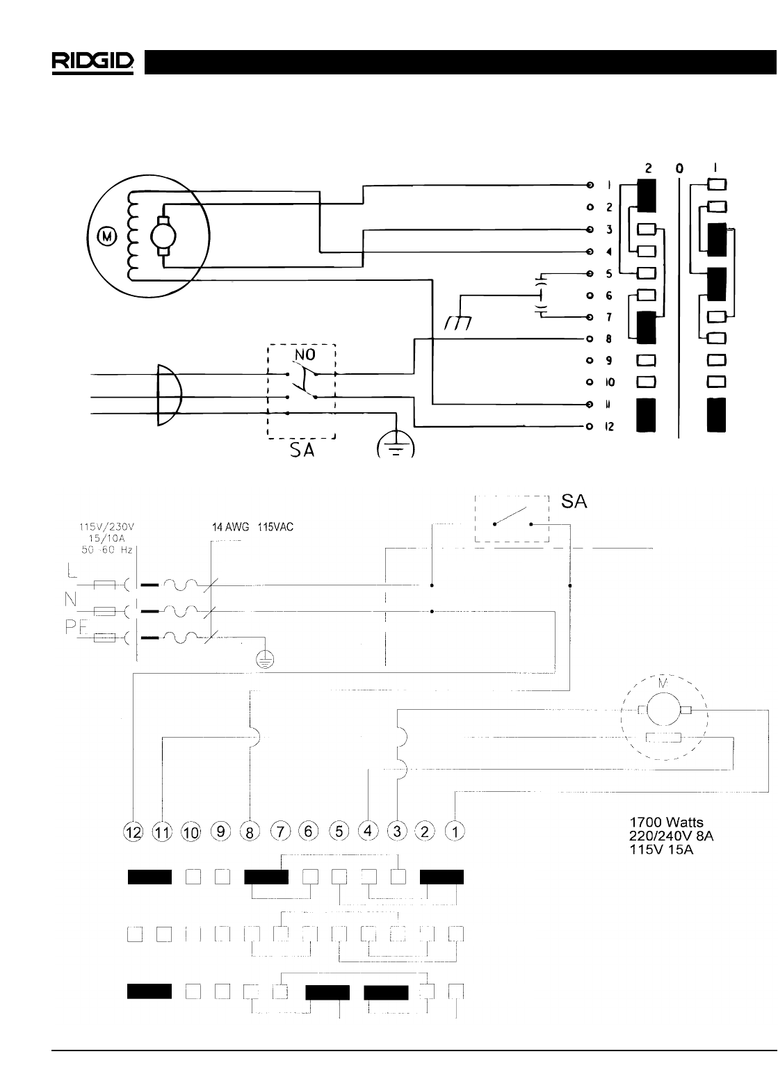 Ridgid Pipe Threader Wiring Diagram
