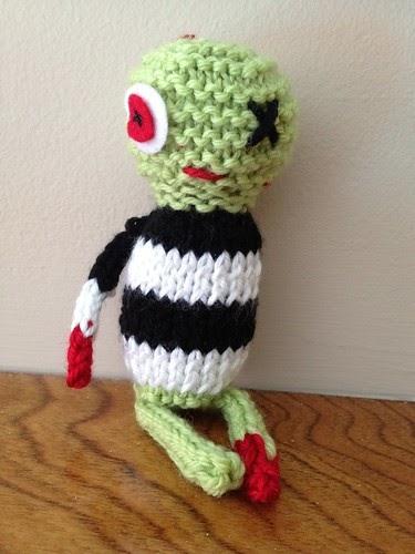 Knitting Zombie Pattern : Knits by britt knitted zombie pattern