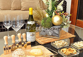 Wine Cheese Tasting Winter Engagement Party Series Idea 1