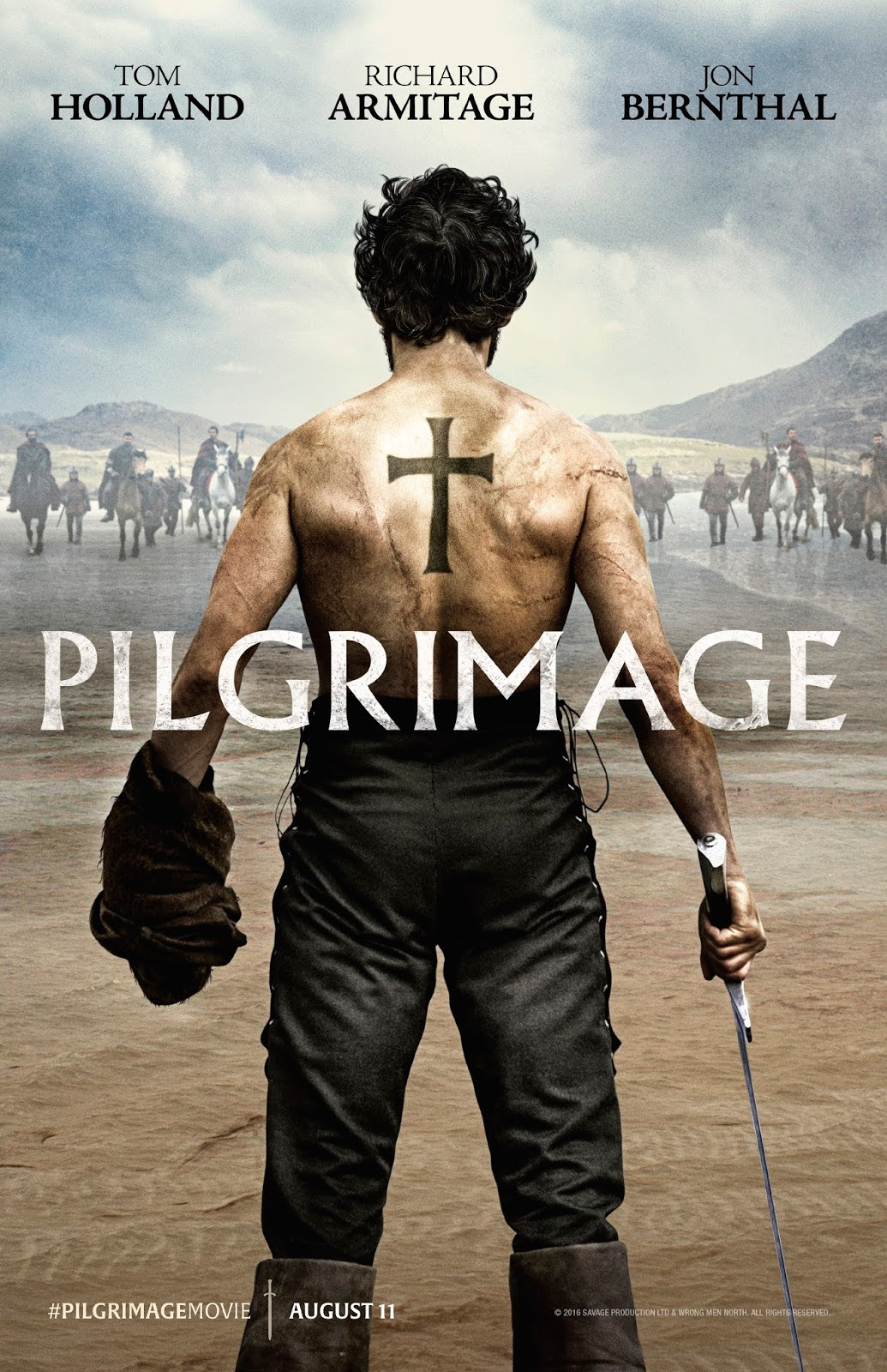 PILGRIMAGE: Jon Bernthal Reveals Battle Scars In The Official Poster