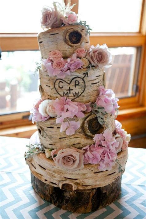 Best 25  Tree wedding cakes ideas on Pinterest   Tree