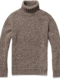 Slowear Zanone Wool And Yak-blend Rollneck Sweater