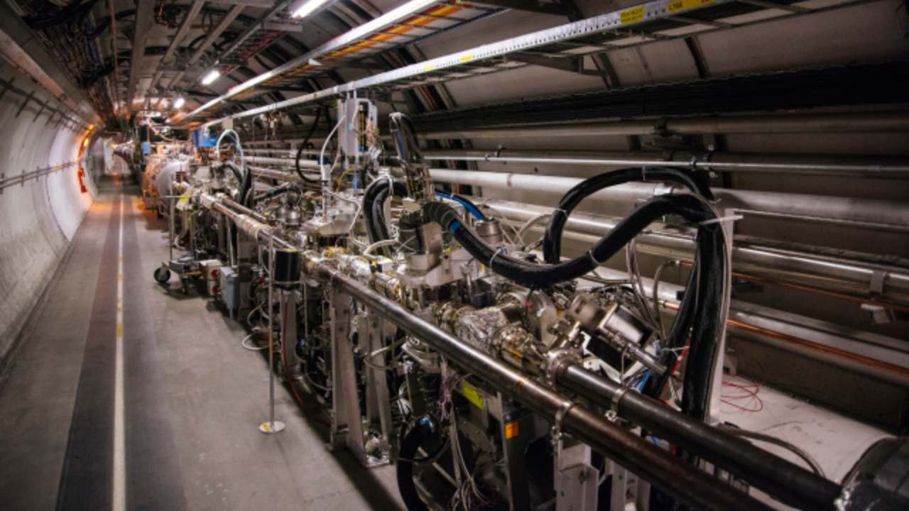 CERN's LHC discovered new type of particle. Image credit: CERN