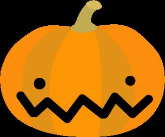 ハロウィンかぼちゃのイラスト 無料イラスト