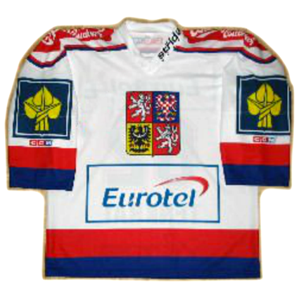 Czech Republic 2005 jersey, Czech Republic 2005 jersey