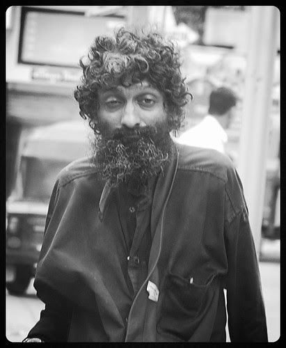The Long Tie Beggar of Bandra Is In Very Bad Shape by firoze shakir photographerno1