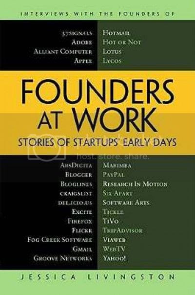 Founders at Work: Stories of Startup's Early Days Book Cover