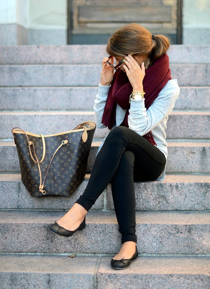 Winter Outfit--totally into burgundy this year#FallintoAutumn