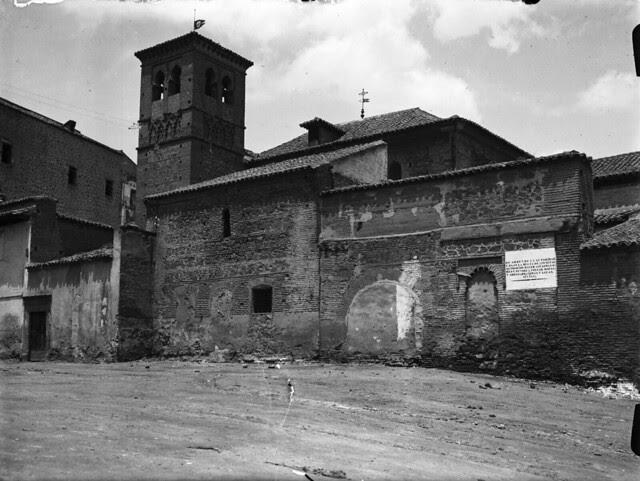 Convento de la Concepción  en los años 20. Fotografía de Otto Wünderlich. © Fototeca del Patrimonio Histórico