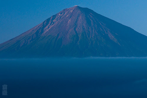 The beautiful evening in summer(Mt.fuji,富士山)
