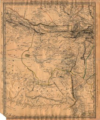 carte impériale anglaise
