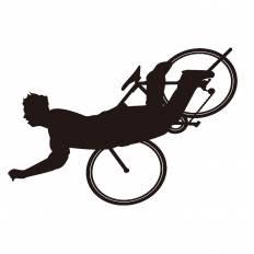 自転車事故シルエット イラストの無料ダウンロードサイト