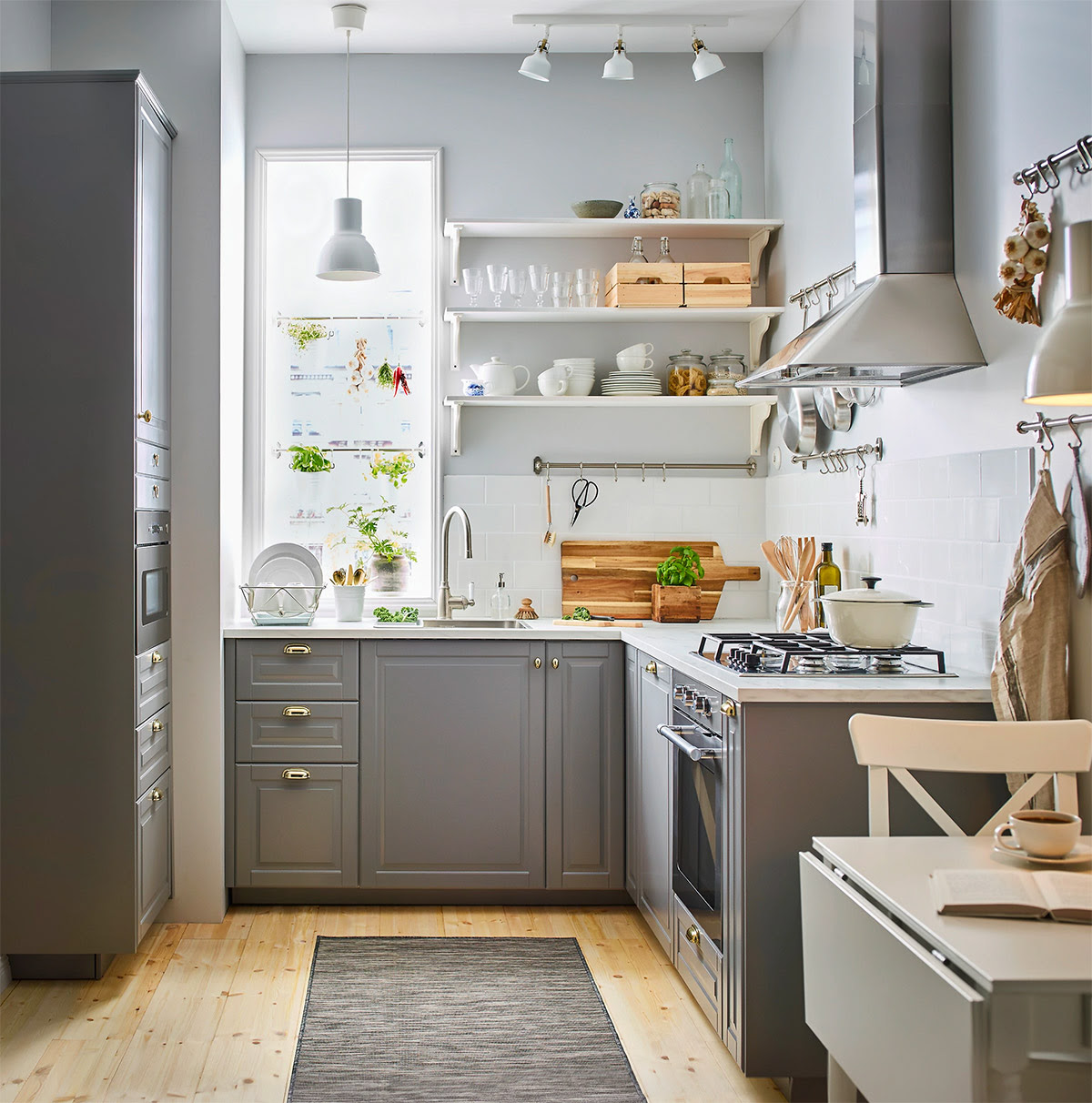50 Lovely LShaped Kitchen Designs  Tips You Can Use From Them