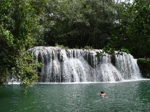 Cachoeira no Rio Mimoso em Bonito Mato Grosso do Sul