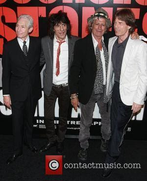 Rolling Stones , Charlie Watts, Ronnie Wood, Keith Richards, Mick Jagger