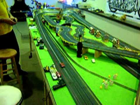 Carrera has carved out a unique niche in the slot car market with their line of scale slot car tracks.Carrera offers the widest tracks in scale (