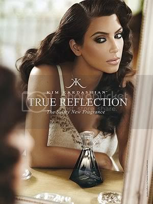 Kim Kardashian True Refection Ad