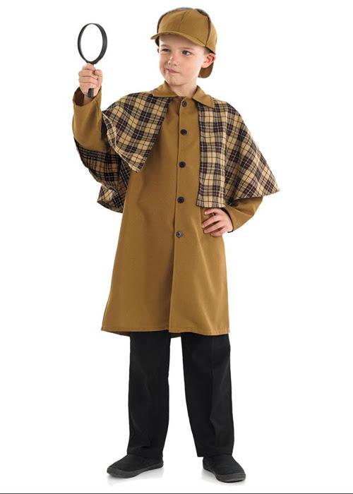 kids sherlock holmes style detective costume  ebay