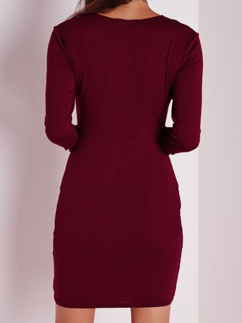 Bodycon dress on different body types quilt purple kohls floral collar