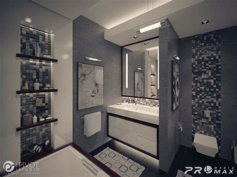 gray white bathroom interior design ideas