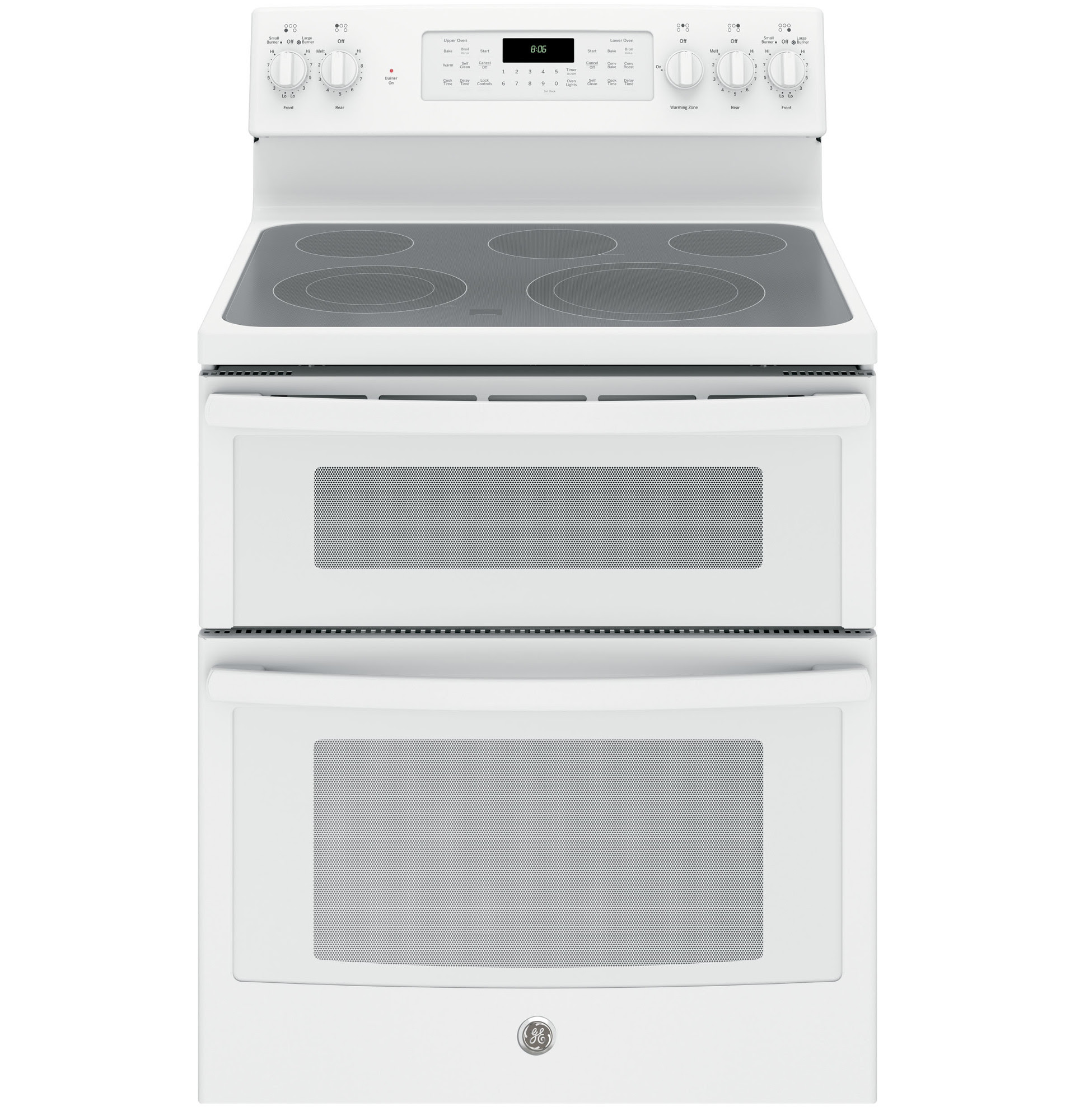 GE Appliances JB860DJWW 6 6 cu ft Freestanding Electric Double