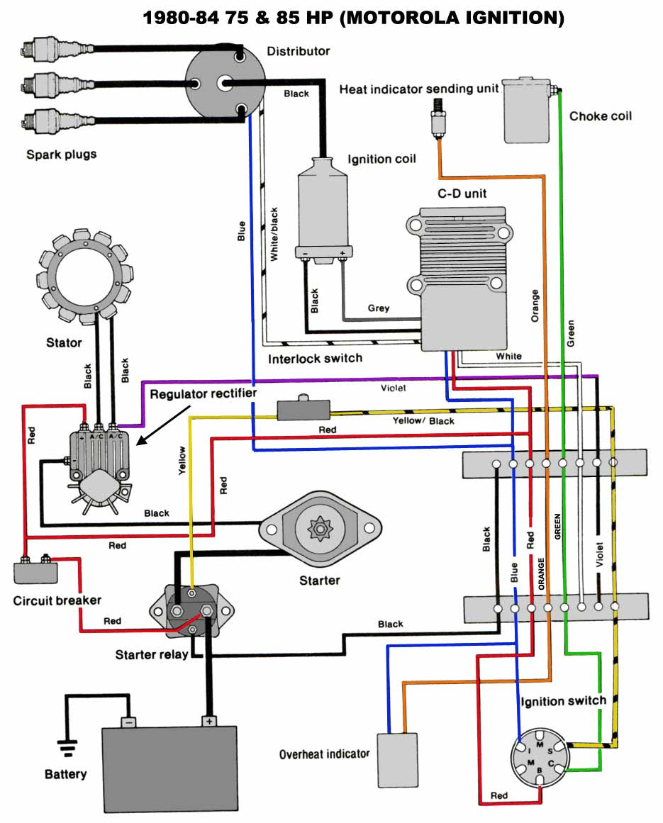 Force Ignition Switch Wiring Diagram - Wiring Diagram | 125 Hp Mercury Outboard Wiring Diagram |  | cars-trucks24.blogspot.com